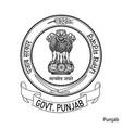 coat arms punjab is a indian region emblem