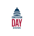 constitution day september 17 holiday concept vector image vector image