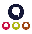 dialogue cloud icon vector image
