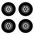 F1 wheel symbols