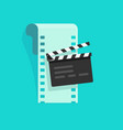 movie or online cinema concept vector image