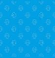 pajamas pattern seamless blue vector image vector image