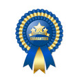 premium quality rosette vector image vector image