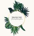 safari palm tropical ullustration garden luxury vector image