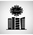 travel city cityscape vector image