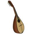 Classic portugal mandolin vector image vector image