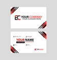 letter ec logo in black which is included in a vector image vector image