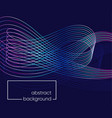 modern abstract background with line wave vector image