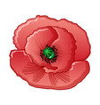 opium flower icon cartoon style vector image