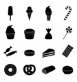 set of sweets icons vector image vector image