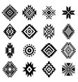 aztec elements vector image vector image