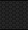 geometric monochrome texture rhombuses vector image vector image
