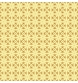 golden pattern background with octagons vector image vector image