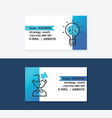strategy coach business cards vector image
