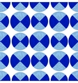 Two-color pattern of blue circles vector image vector image