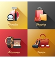 Women Shopping Design Concept vector image vector image