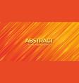 abstract modern trendy orange gradient background vector image vector image