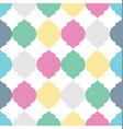geometric squares seamless pattern vector image vector image