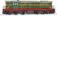 locomotive 2 vector image vector image