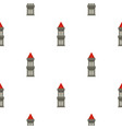 medieval battle tower pattern seamless
