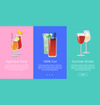 nightclub party 100 fun summer drinks cocktails vector image vector image