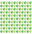 pattern spring vector image vector image