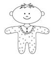ragdoll boy vector image