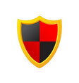 shield protection icon image design vector image vector image