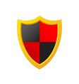 shield protection icon image design vector image