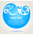 Water design background vector image vector image