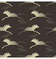 wild horses vector image