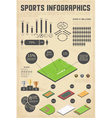 Design elements for sports infographics vector | Price: 1 Credit (USD $1)