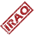 New Iraq rubber stamp vector image vector image