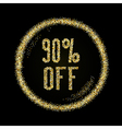sale 90 off vector image