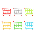 Shooping Carts vector image