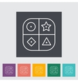 sorter educational toy vector image