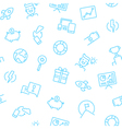 Startup Icons Background vector image vector image