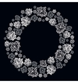 Winter snowflakes design vector image