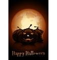 Happy Halloween Poster Holiday vector image