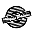 Drought Warning rubber stamp