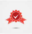 approved accept certified icon guarantee icon vector image