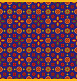 colourful ajrak vector image vector image