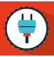 connector icon design vector image