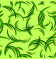 pattern from green curls for grass vector image vector image
