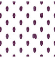 seamless pattern with hand drawn mulberries vector image vector image