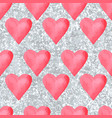 wedding aquarelle pink seamless pattern vector image vector image