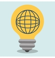 idea global connection icon vector image