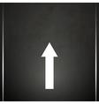 Road marking vector image