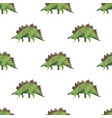 dinosaur triangle seamless pattern backgrounds vector image vector image