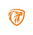 eagle logo design image vector image vector image